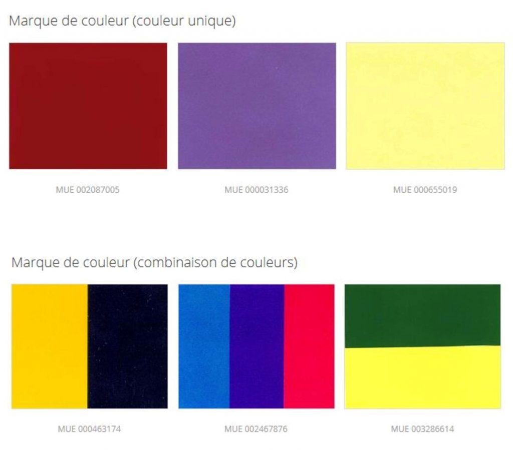 Marque de couleur marque européenne euipo validité couleur spéciale