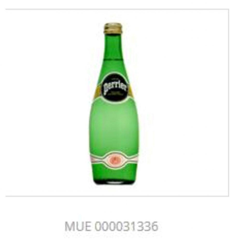 marque forme produit bouteille perrier