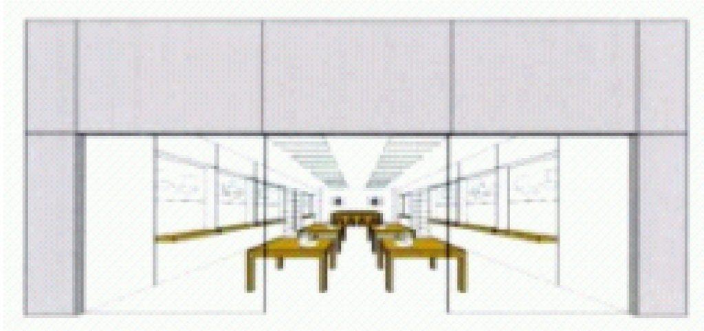 marque-tridimensionelle-pour-un-service-magasin-apple