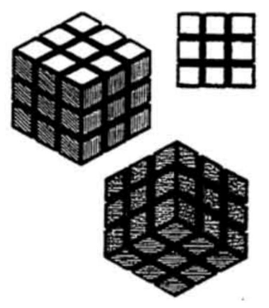 rubik s cube marque tridimensionnelle européenne valable